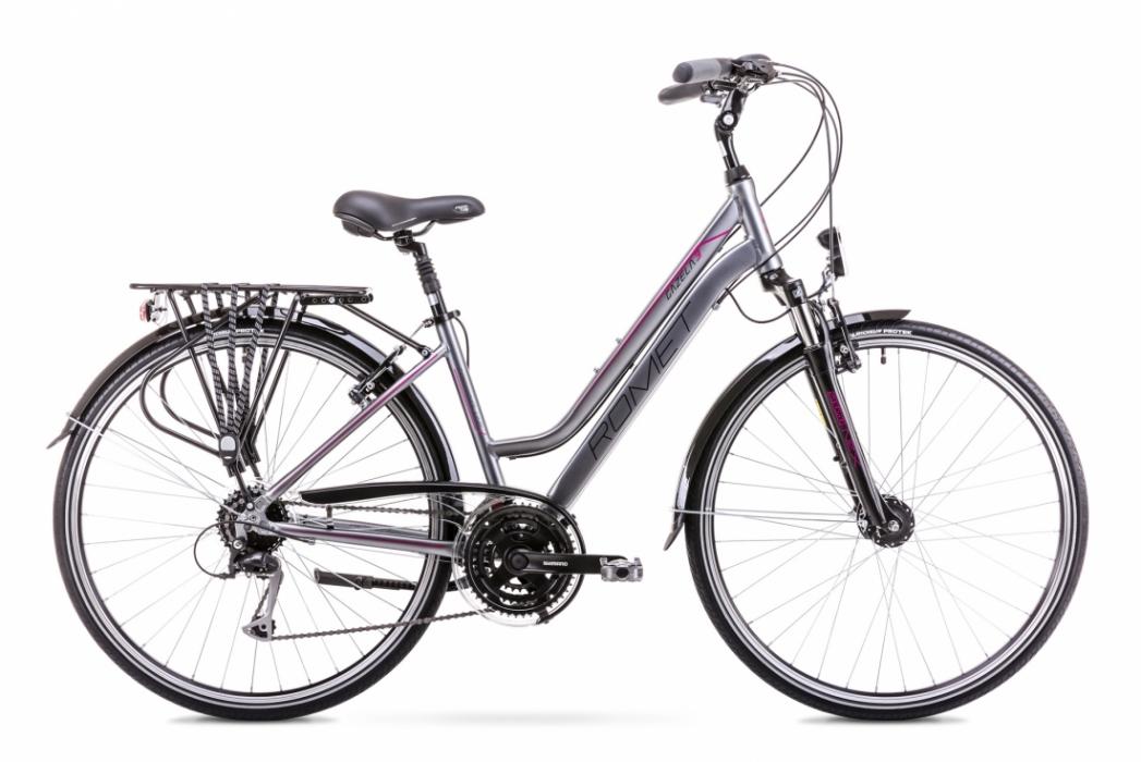 ROMET GAZELA 3 2019 női trekking túra kerékpár