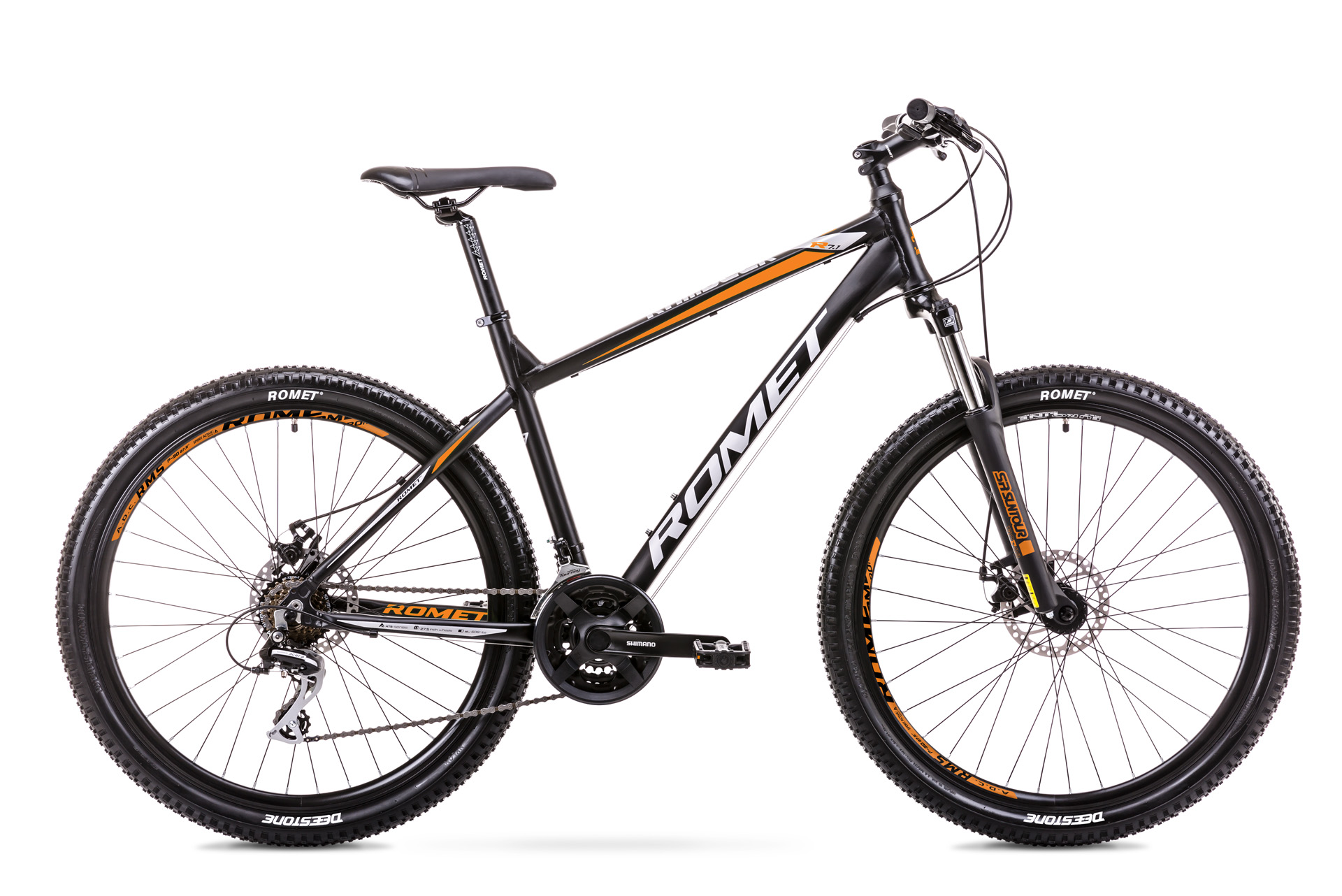 ROMET Rambler R7.1 2019 27,5 650b mountain bike kerékpár fekete