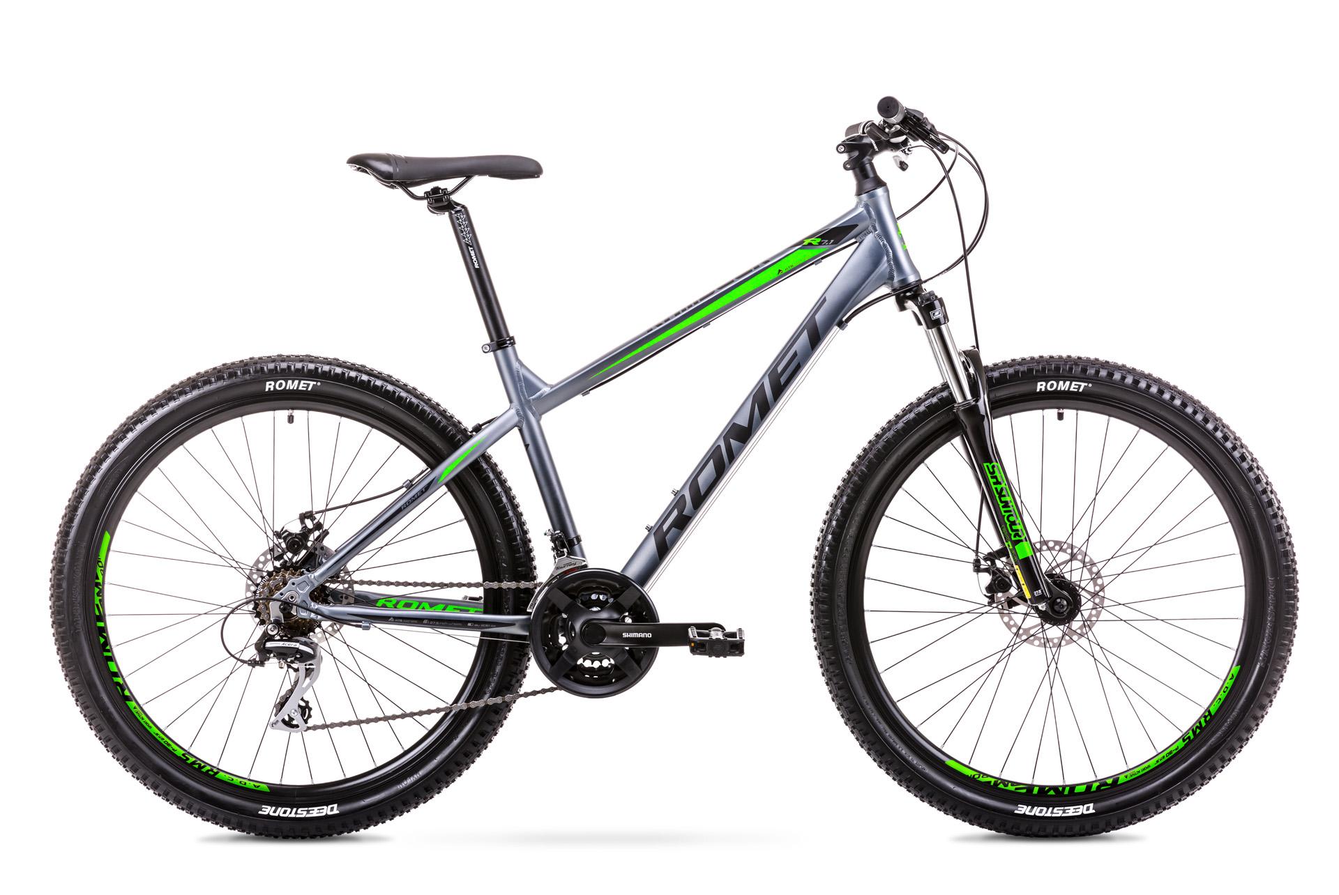 ROMET Rambler R7.1 2019 27,5 650b mountain bike kerékpár grafit